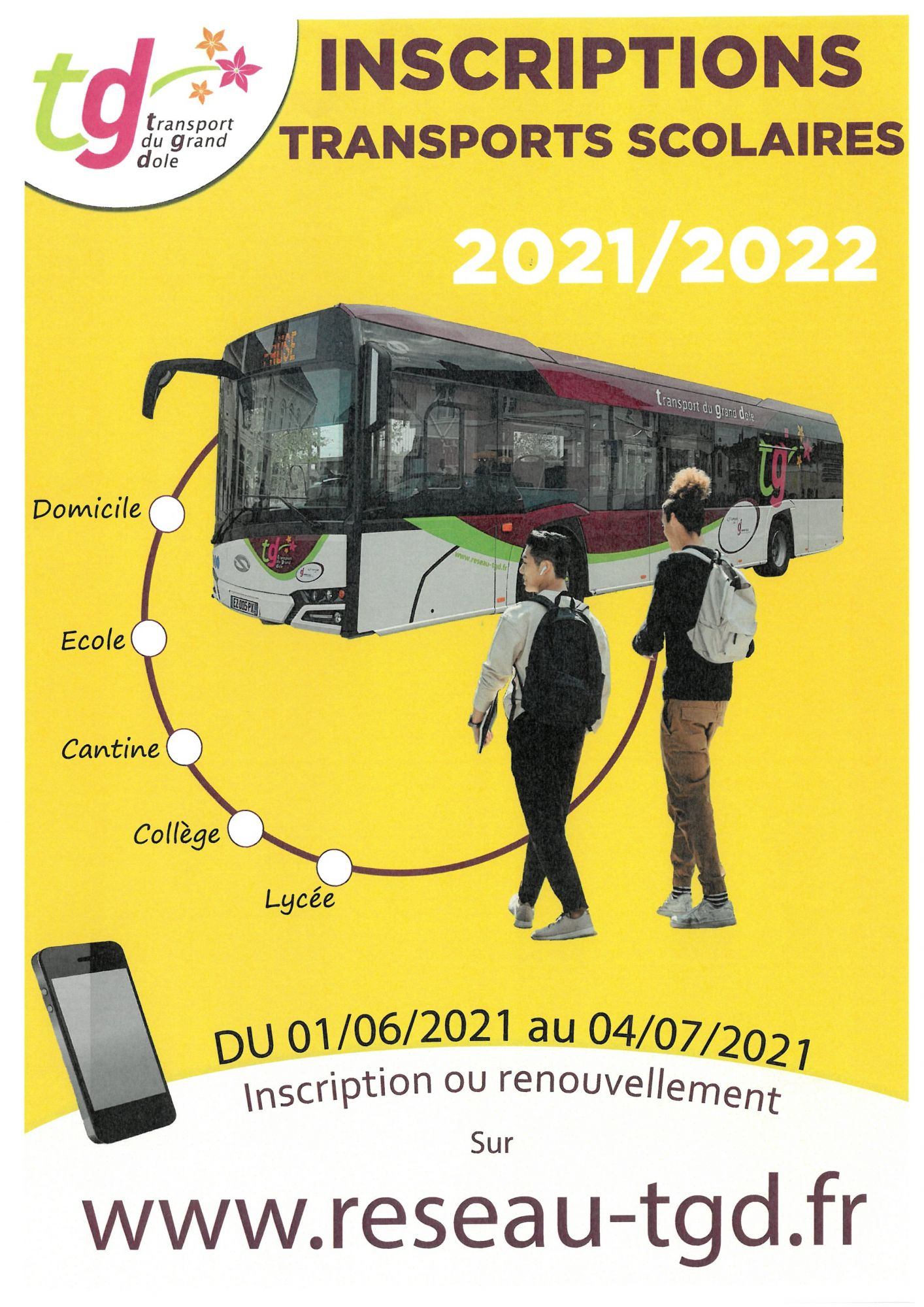 affiche transport TGD 21-22