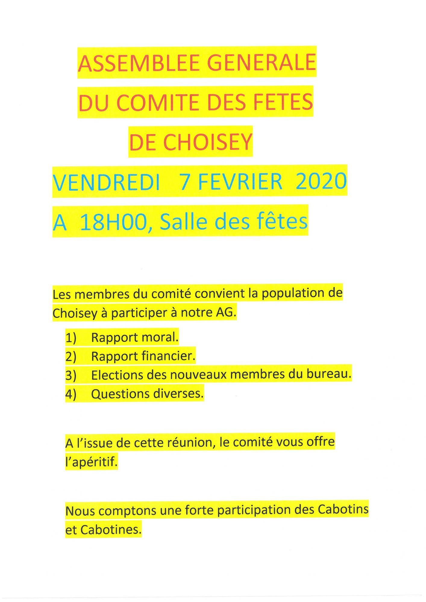 AG Comité Fetes 7-2-20